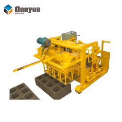 Qt40-3un bloc de béton Mobile La ponte des oeufs de la machine pour faire de blocs creux dans les pays africains