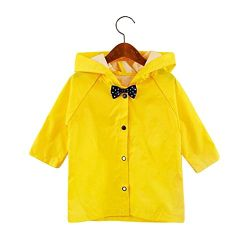 レインコートはフード付きRainsuitの男の子の女の子のRainwearのポンチョをからかう