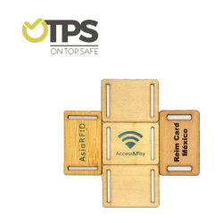 Personalizar la tarjeta de madera de RFID para la lealtad de compras/gestión/actualización/Guest Card