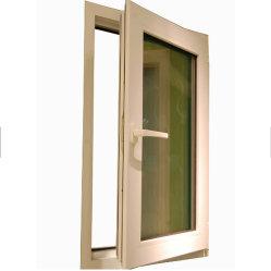 Farbe kundenspezifischer doppelter glasig-glänzender Fenster-moderner Entwurf Belüftung-UPVC