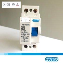Elektronischer Wechselstrom-Typ RCCB 2p 16A L3 China Sicherung ökonomisch