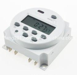 Cn101A 디지털 프로그래밍 가능 타이머, DC12V 16A 시간 릴레이 스위치 컨트롤, CE 인증 시간 스위치, LCD 디스플레이 배터리 전원 디지털 시간 스위치