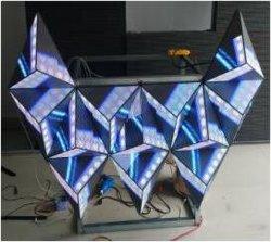 3D-дисплей со светодиодной подсветкой P5 для использования внутри помещений DJ стенд дисплей со светодиодной подсветкой для ночной клуб