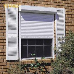 Venda por grosso de Roletes isolados inteligente automático exterior de rolamento de Obturação por Sorriso Roll-up sombra de porta de metal de alumínio preço de fábrica de obturador da janela