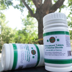 Hospital de tabletas de desinfección de dióxido de cloro antibacteriana