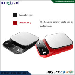 Scala della cucina di Digitahi con il piatto di bilancia dell'acciaio inossidabile che pesa reclamo massimo dell'intervallo 5kg per Ce, RoHS, FCC
