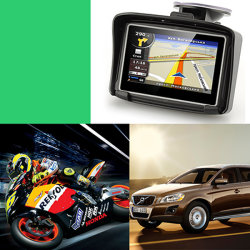 Lange GPS van het Leven van de Batterij Drijver met Draaglijke Touch-Screen