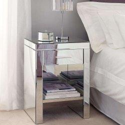 Espejos venecianos 1 cajón mesita de noche