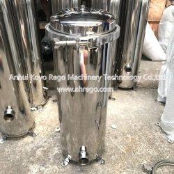 Tratamento de Água os componentes do sistema de membranas cerâmicas alojamento SS