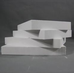 Température élevée de panneaux de fibres de céramique réfractaire isolement 25mm