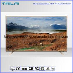 """Монтироваться на стену 40 """" Super Slim DVB-S2 цифровой телевизор со светодиодной технологией Hevc H. 265 Scart"""