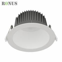 Downlight LED IP44 COB Spotlight lámpara antirreflejos profunda 7-40W Lámpara de techo en el Foco de iluminación de interiores