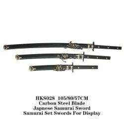 Venda por grosso de espadas Samurai japonês 105/80/57cm Hks028