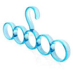 Ремень для изготовителей оборудования Без шарфа многофункциональный вешалки сушки кольцо Шаль для установки в стойку