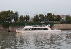 Grandsea 22m 70 футов 70 лиц используется для продажи на лодке со стороны пассажира с внутренней дизельного двигателя