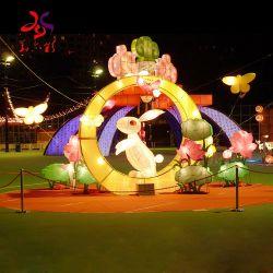 مهرجان زخرفة إنارة دائرة الأبراج يشعل حيوان [لد] زخرفة
