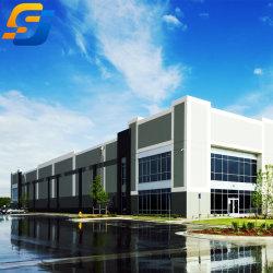 Structure de l'entrepôt du fabricant de la Chine, structure en acier Large-Span Wind-Resistant Warehouse