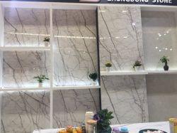 Dekoration weiße Calacatta purpurrote Marmorfassadenelement-Polierader-Fliese-Platte für Wand/Fußboden/Vanitytop/Kamin-Bedeckung