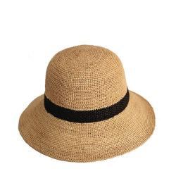 Cappello di Panama poco costoso tessuto modo di vendita caldo della paglia del documento di estate del Crochet