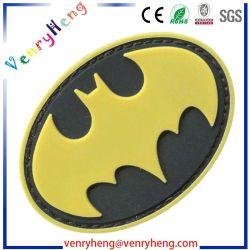 Zone su ordinazione del contrassegno del PVC della gomma dell'indumento di nome di marchio 3D dell'OEM