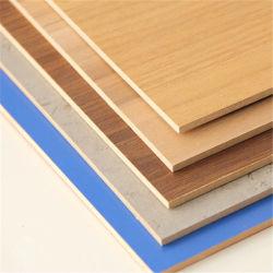 18мм Деревянные зерна декоративные ламинированные меламина MDF для настенной панели