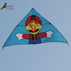 屋外のおもちゃの容易な飛行の漫画の販売のための大きいデルタ凧