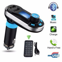 2개의 USB SD LCD 차 충전기 장비를 위한 Bt66 차 MP3 선수 Bluetooth FM 무선 전송기