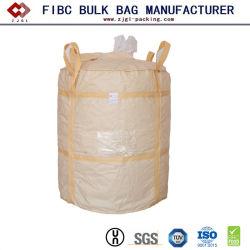 Пластиковые PP из крупных оптовых тонну сумку с PE для химический порошок FIBC гильзы
