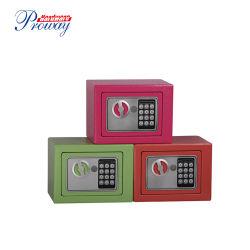 Portátil Seguro de Depósitos de acero Caja de seguridad con bloqueo Digital Ce aprobada para la persona viajes/ Los niños/Promoción de regalo