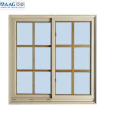 외부 및 내부 알루미늄/알루미늄 유리 슬라이딩 윈도우