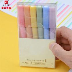 Rifornimenti di banco su ordine dell'ufficio della cancelleria delle penne di colore dell'indicatore 18 del Highlighter e rifornimenti degli indicatori di coloritura
