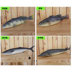 스시 식당 살아있는 것 같은 공상 인공적인 PU 물자 가짜 물고기 전시
