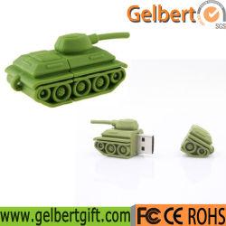 ギフトのための最も安いタンクデザイン習慣2.0 USBのディスク