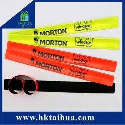 Le sport de la sécurité Bracelet PVC réfléchissant gifle gifle Bande pour cadeau promotionnel