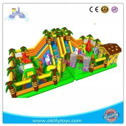 إطفا مطاطي مملوءة بالهواء ينتعش ملعب للأطفال الداخلي أسعار المعدات الأطفال