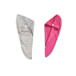 OEM Microfiber de Snelle Droge Handdoek van Bandana's GLB, de Absorberende Handdoek van de Hoofdband van de Tulband van het Haar van de Vacht van het Koraal van het Borduurwerk, van het Katoenen van 100% de Schoonmakende Handdoek MOQ van Kithen van de Hand Gezicht van het Bad