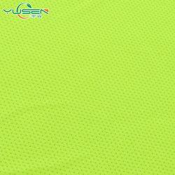 Commerce de gros de la Chine de la mode des vêtements de sécurité du trafic tissu à mailles fluorescent
