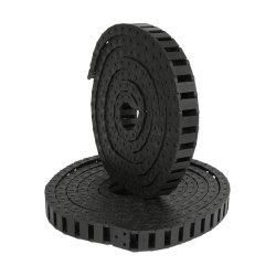 Pezzo meccanico Chain di CNC del nastro trasportatore di resistenza di plastica del trasportatore del rullo