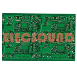 PCB (Flash) Or 4 couches d'immersion sans plomb de l'Or Carte de circuit imprimé