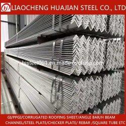 Prezzo d'acciaio galvanizzato di angolo del ferro di HDG del materiale da costruzione del fornitore della Cina