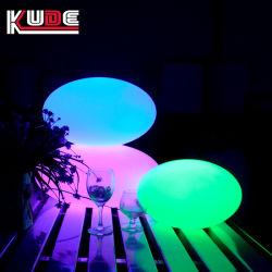 Tendance de promotion de Noël Cadeau plat LED de la lampe de l'oeuf Décoration de jardin en plein air
