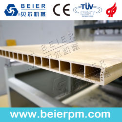 WPC Madeira do painel de porta de PVC da linha de produção de Extrusão