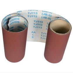 Étroite ceinture toile abrasive du papier de verre bois meulage polonais