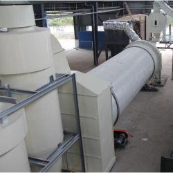 Unità di secchezza dell'essiccatore rotativo bagnato automatico della segatura