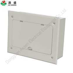 Alojado segurar a montagem embutida da calha DIN 18 maneiras MCB Caixa de Distribuição