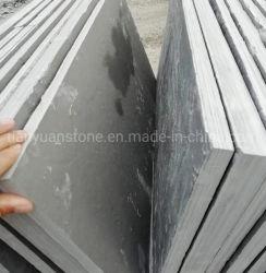 Suelos de pizarra negra natural grandes baldosas de pizarra para la decoración exterior