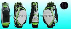 Fabrico profissional Antique sacos de golfe de couro PU saco de golfe de couro sacos de carrinhos de golfe