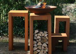 Il cortile oscilla la Tabella del fuoco del patio del pozzo del fuoco di gas