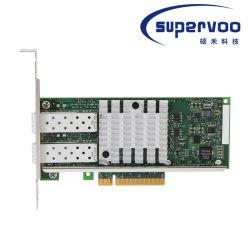Intel X520-DA2 double ports 10 Gigabit PCI Express 2.0 x8, profil bas de la carte réseau convergé Ethernet