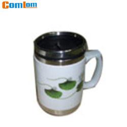 CL1C-M06C Comlom керамический корпус из нержавеющей стали для приготовления кофе поездки кружки